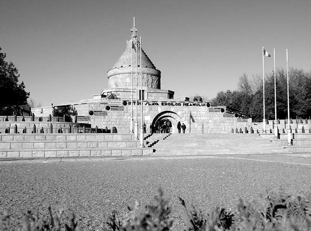 Mausoleul din Mărăşeşti, simbol al istoriei şi luptei pentru apărarea României.